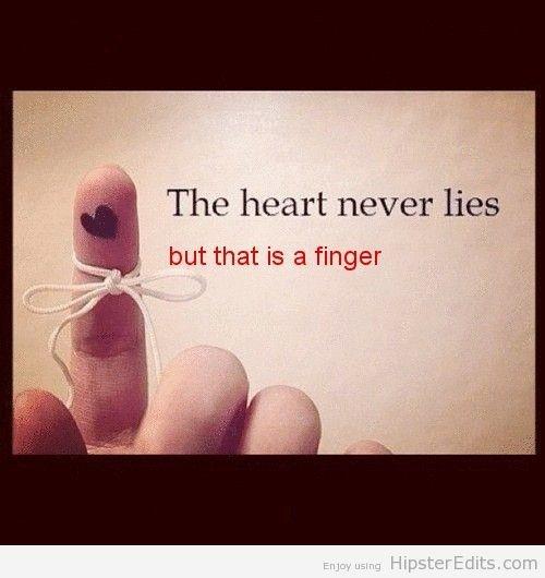 Hipster Edit: The heart never lies