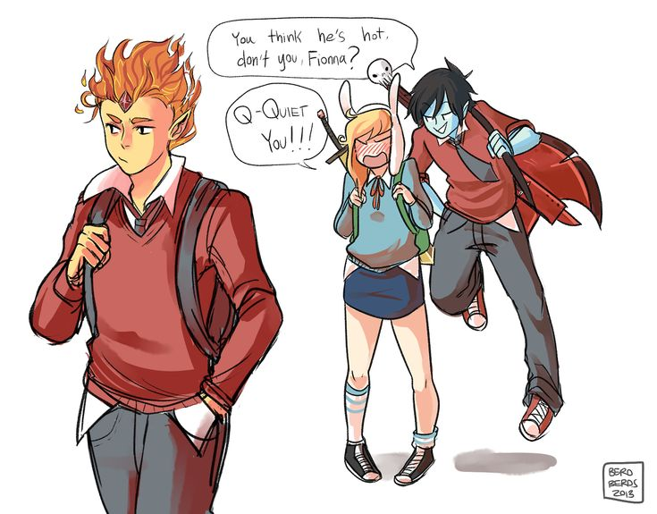 Adventure Time Fionna and Flame Prince | Adventure Time art marshall lee fionna fionna and cake Prince Gumball ...
