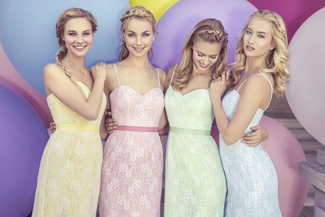 Isn't this new pastel bridesmaids collection just dreamy!