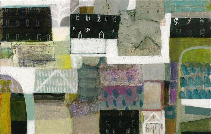 Anne Davies - High Tide.  Acrylic on Board