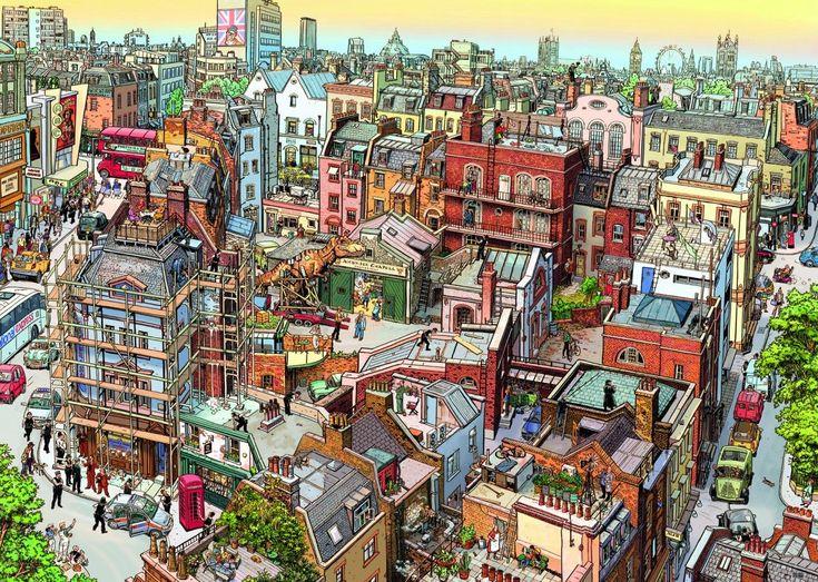 Прикольный город картинки, любимому