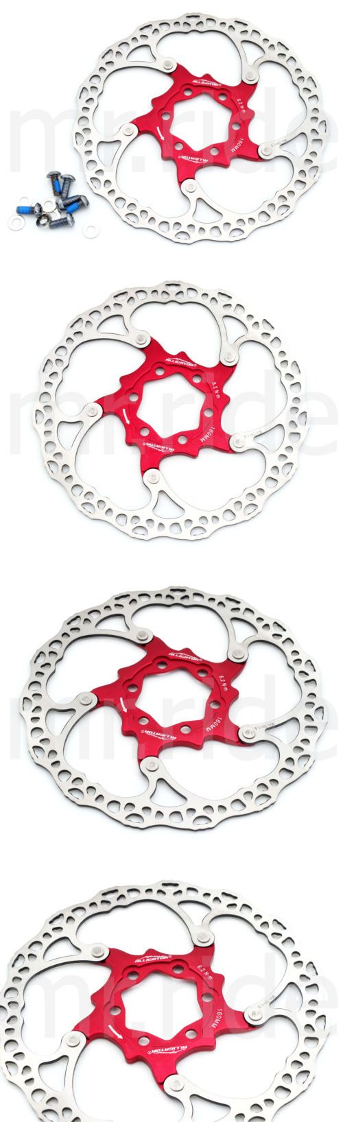 Brake Rotors 177807: High Grade Alligator Floating Disc Brake Rotor 104G 160Mm Red BUY IT NOW ONLY: $32.5