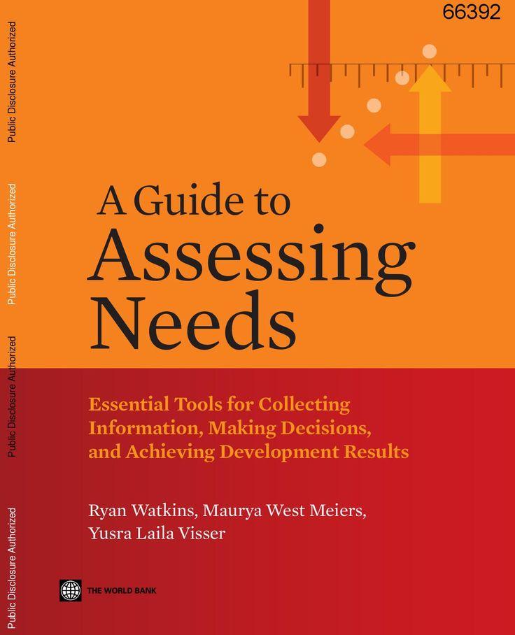18 best Needs Assessment images on Pinterest Assessment - needs assessment