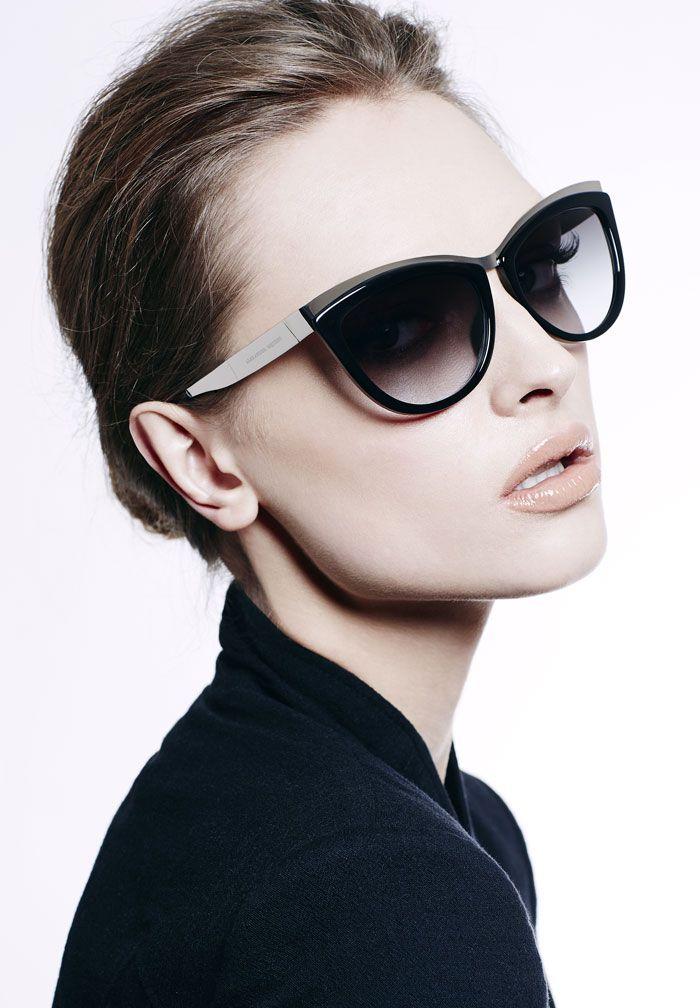 Mcq Modified Cat Eye Sunglasses Model
