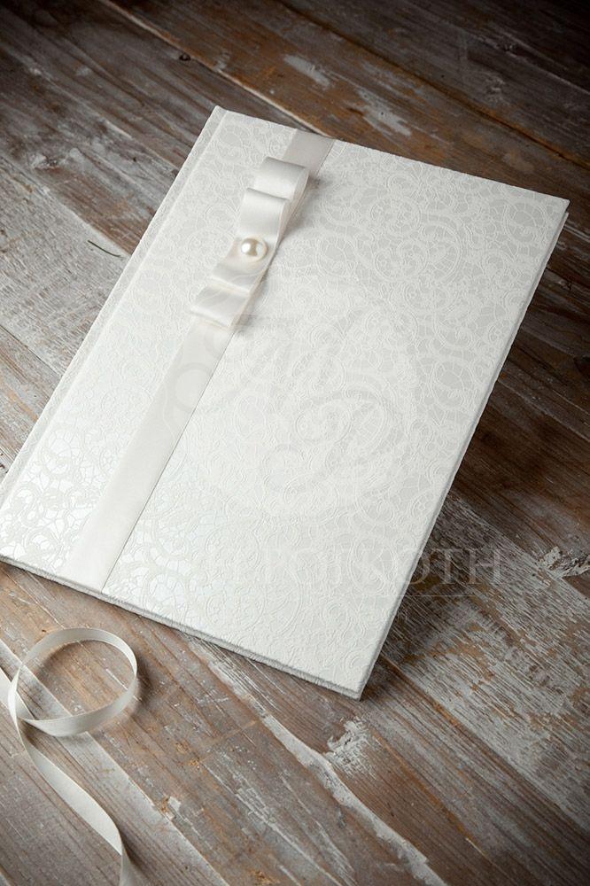 Elegant Lace Guest Book