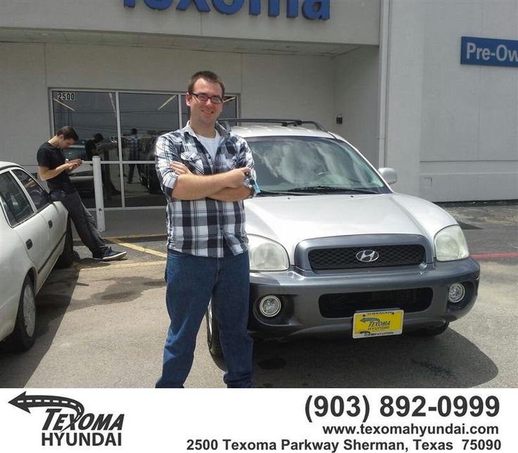 "https://flic.kr/p/u8YQHB | Congratulations to Erich Nischan on your #Hyundai #Santa Fe from Mike Burdette at Texoma Hyundai! #NewCar | <a href=""http://www.texomahyundai.com/?utm_source=Flickr&utm_medium=Dmaxx&utm_campaign=DeliveryMaxx"" rel=""nofollow"">www.texomahyundai.com/?utm_source=Flickr&utm_medium=D...</a>"