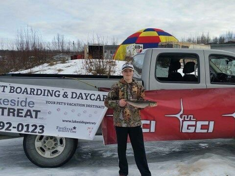 Fishing is big-time here in Alaska! GCI is proud supporter of the Big Lake Ice Fishing Derby.