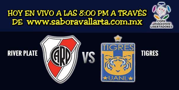 River Plate vs. Tigres juegan hoy la final de Copa Libertadores