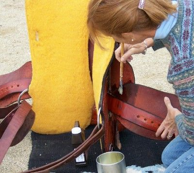 Easy ways to soften up a new western saddle and stop the squeak.