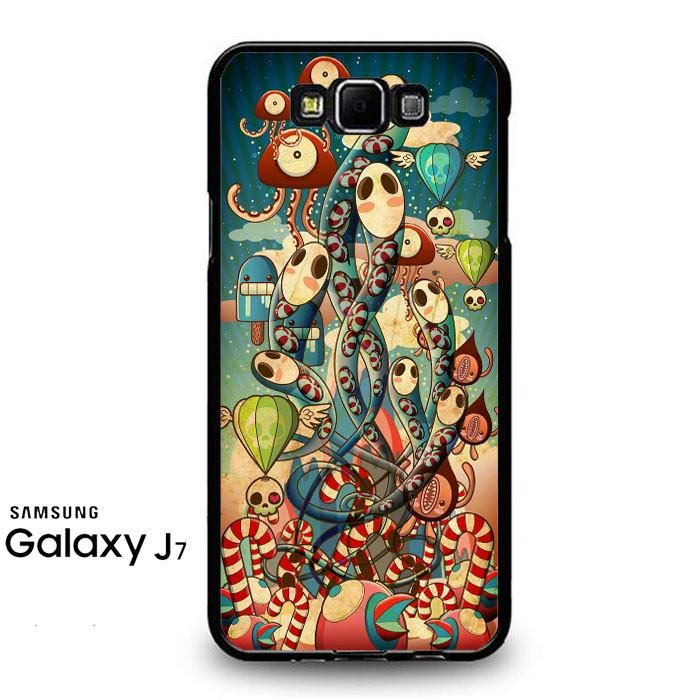 Mural Windows Gurita Samsung Galaxy J7 Prime Case