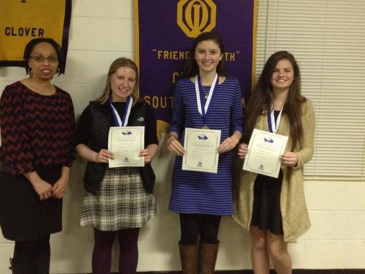 Congratulations to WINUM District Essay Contest Winners