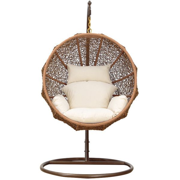dot bo nested hanging lounge chair 971 liked on. Black Bedroom Furniture Sets. Home Design Ideas
