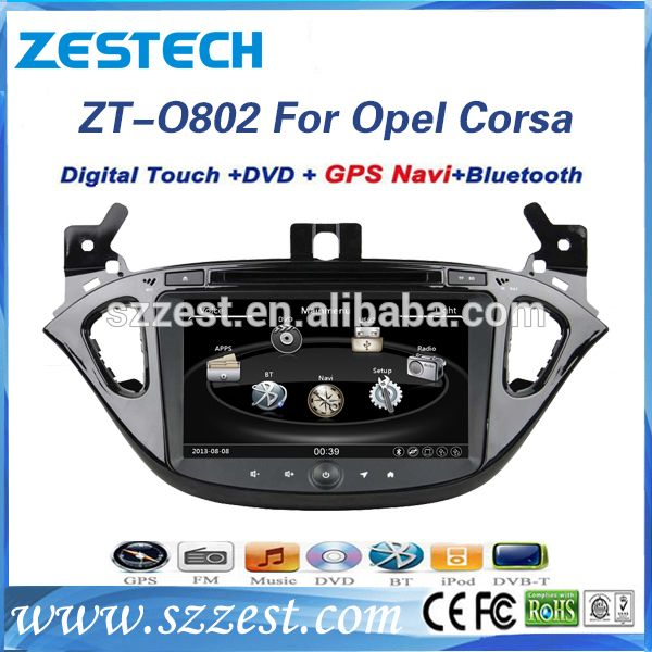 Auto Radio Stereo for Opel Corsa car DVD GPS Navigation Central Multimidia GPS