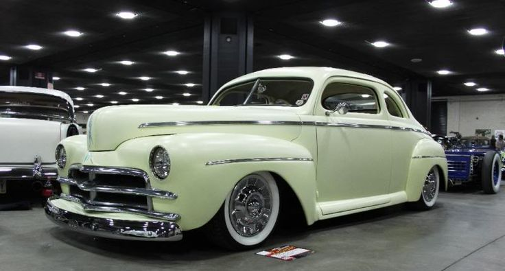 46-48 ford with 50 Plymouth grill. | Kustoms | Cars, Ford ...