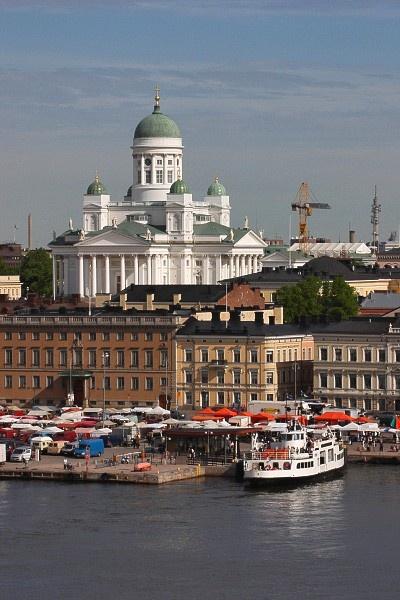 #Helsinki #market #square