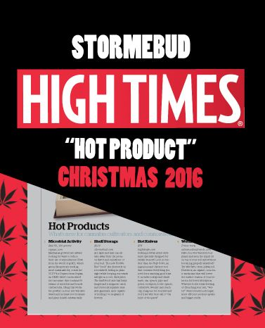 @stormebud is getting lots of #love - in @DOPE_Magazine in September, and now in @HIGH_TIMES_Mag #Christmas edition. On stands October 1st.