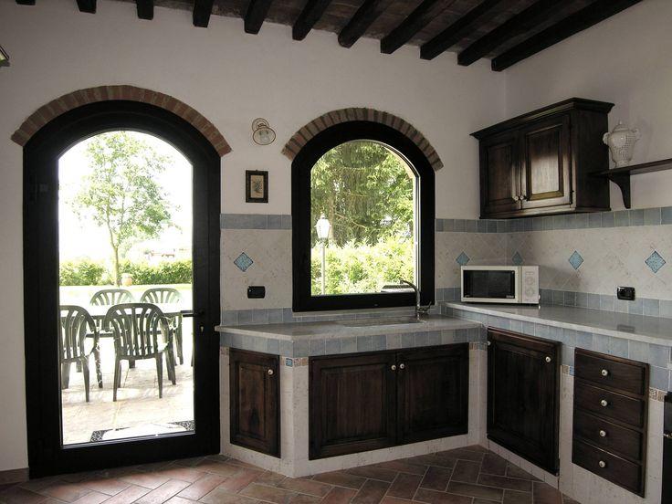 Ristrutturazione ex fienile in civile abitazione : Cucina in stile rustico di Studio Tecnico MB architettura