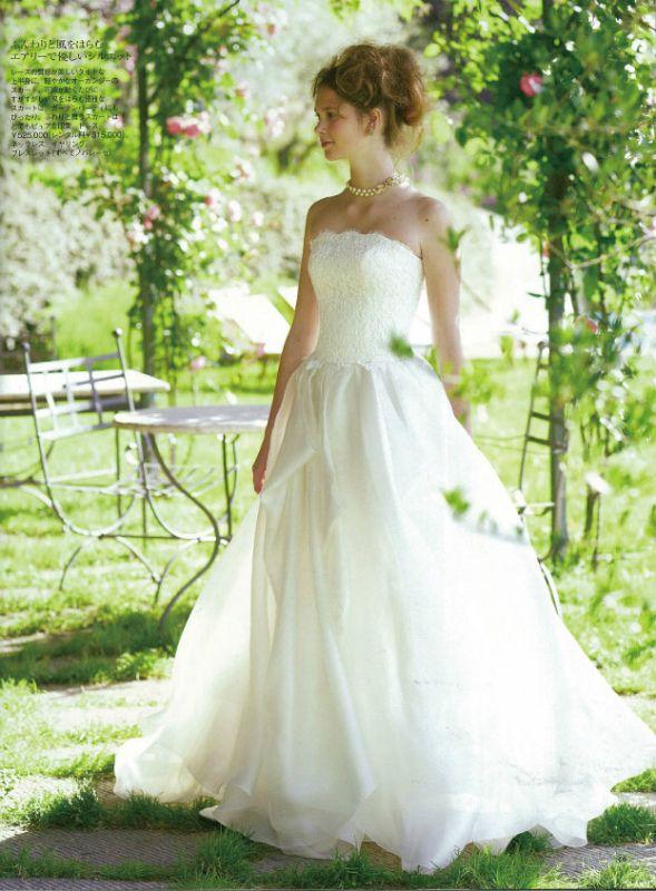 25ans ウエディング ドレス(2013.07.22) P.56 BTNV158 #NOVARESE #25ans #wedding #dress