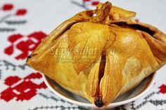яблоки в тесте с корицей и абрикосовым джемом