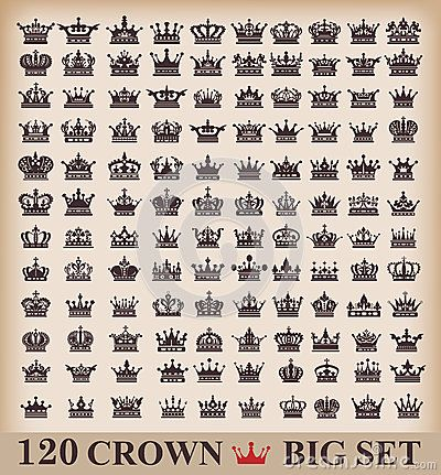 icons crown vector