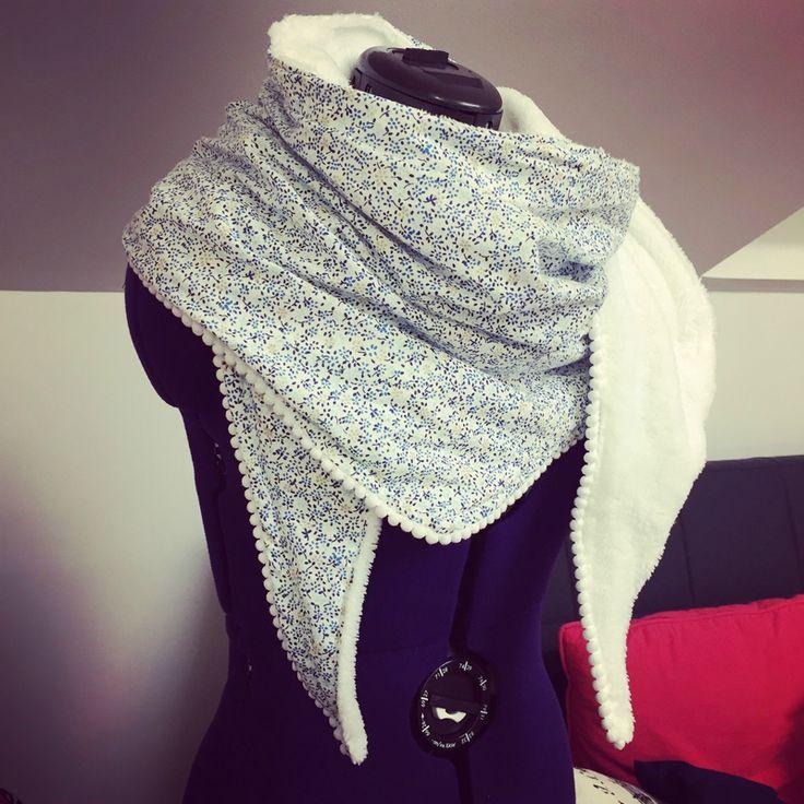 Cadeau de Noël – Chèche d'hiver – DIY, Couture & Co.