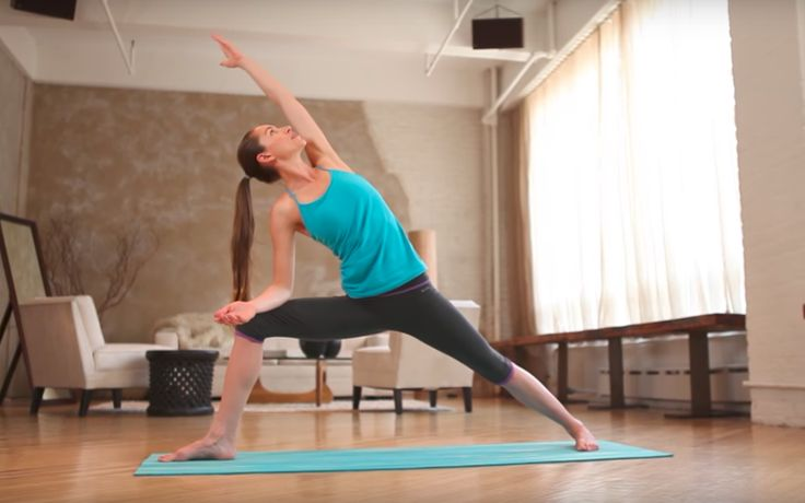 Building strength evenly is important for starting out in yoga. Tara Stiles is here to show you some moves.