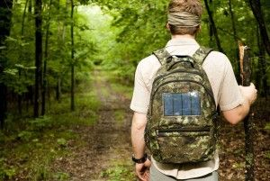 Vivo 2.4W Solar Powered Backpack