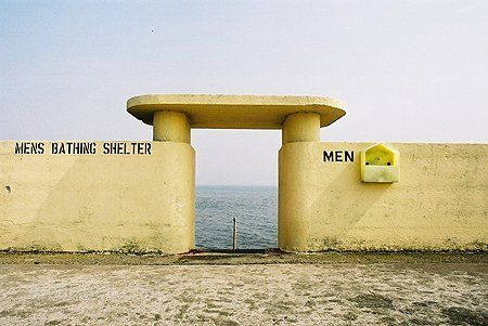 Bathing shelter, Dublin