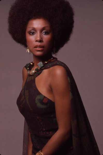 Portrait of African American actress Diahann Carroll New York 1973