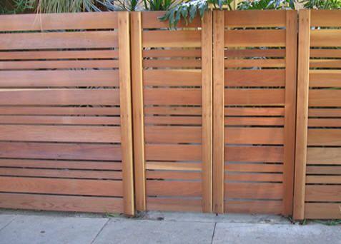 lovely horizontal fence                                                       …