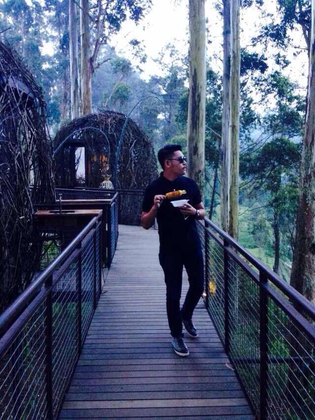 Dusun bambu, pilihan terbaik untuk menikmati sejuknya udara alam.