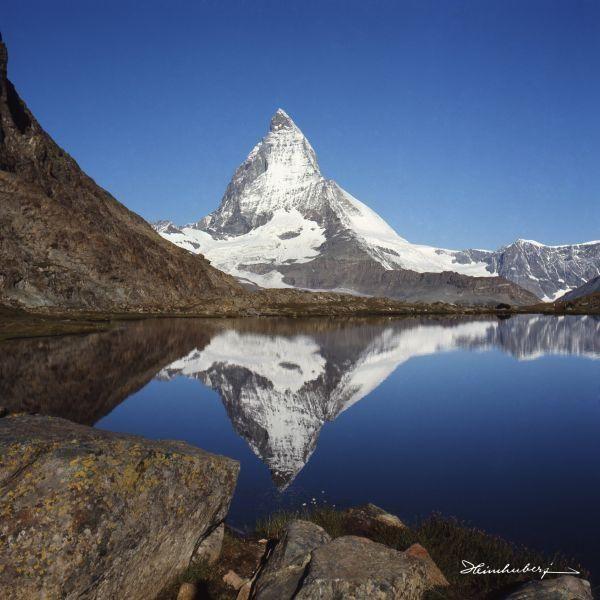 Faszinierende Bergbilder in Farbe und schwarz weiß als Leinwandbild für Ihr…