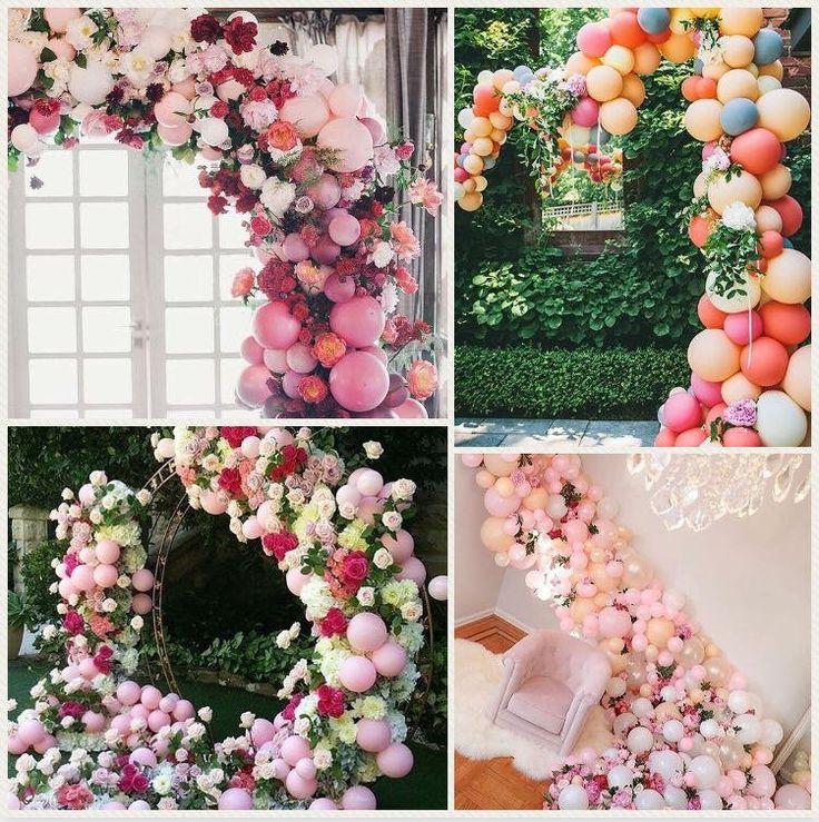 Cum iesi din cotidian cand vine vorba despre decoratiuni de nunta? Simplu! Adaugi un element clasic, dar de efect si anume... baloanele! In mai multe culori sau intr-o simpla nuanta, mai mari sau mai mici, acestea nu se demodeaza niciodata si daca stii sa le asortezi cu stil si mai ales cu florile potrivite, te alegi cu o piesa de decor ce va atrage toate privirile.