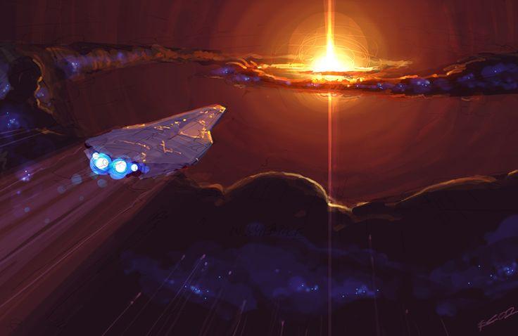 The Art of Homeworld. Enjoy. | Concept art and Sci fi
