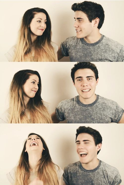 """Zoe and Alfie """"Zalfie"""". They have the cutest relationship ever <3"""
