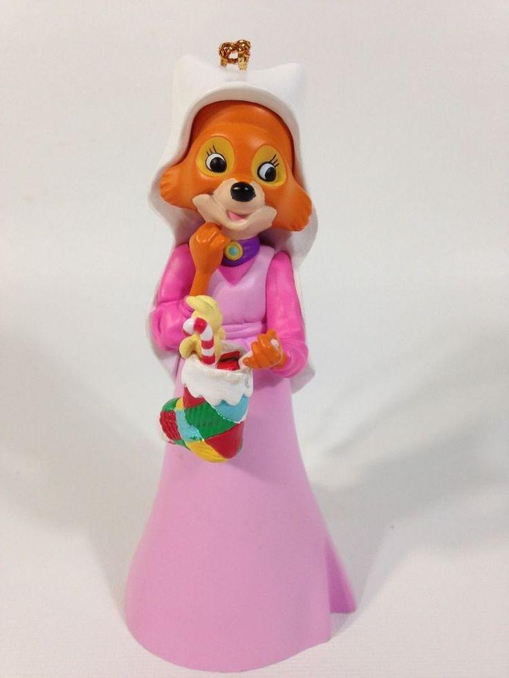 Grolier Disney Maid Marion Christmas Magic Tree Ornament DCO From Robin Hood  #Disney