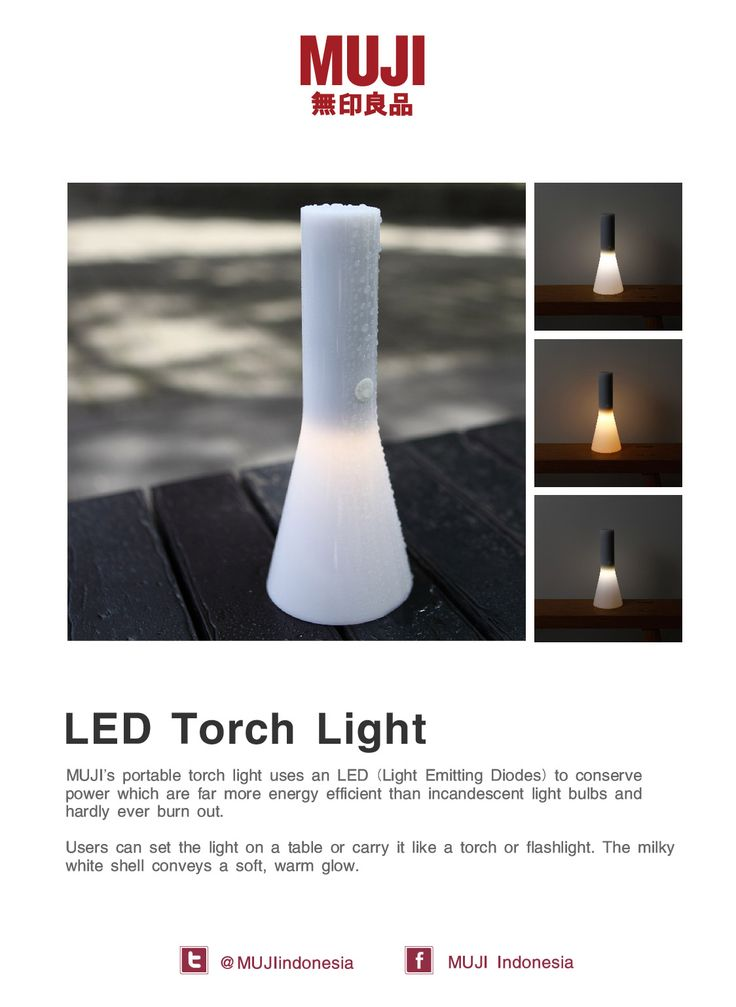 MUJI LED Torch Light