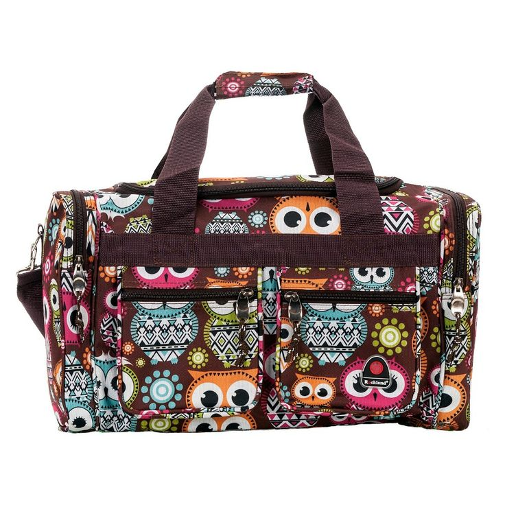 Rockland Tote Bag Owl 19 Girl S Multi Colored