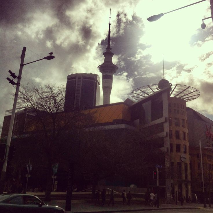 Metro Centre with Sky Tower in the background