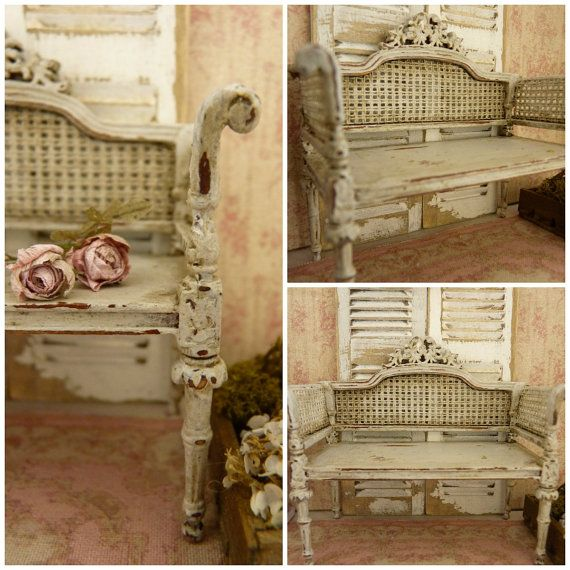 137 best distressed cane furniture images on