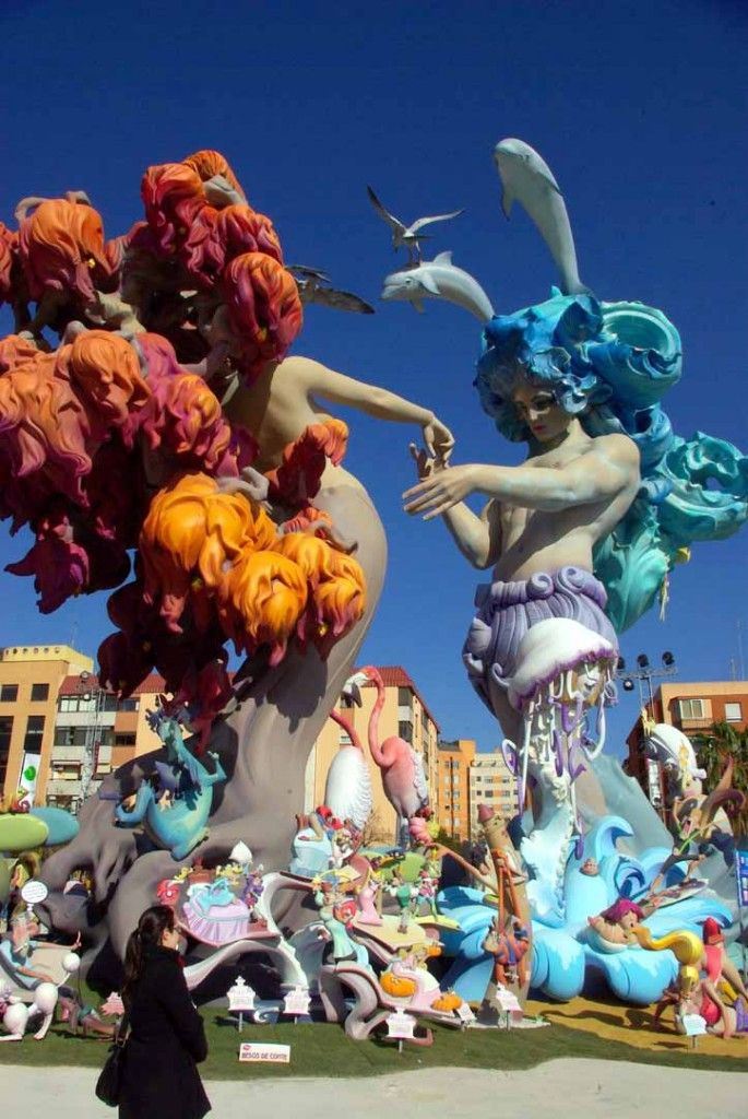 Las Fallas festival in Valencia March 15-19 Fire, fireworks, smoke, and excitement make this festival a cross between Disney World and the apocalypse. www.allabouttravel.org - www.facebook.com/AllAboutTravelInc - 605-339-8911