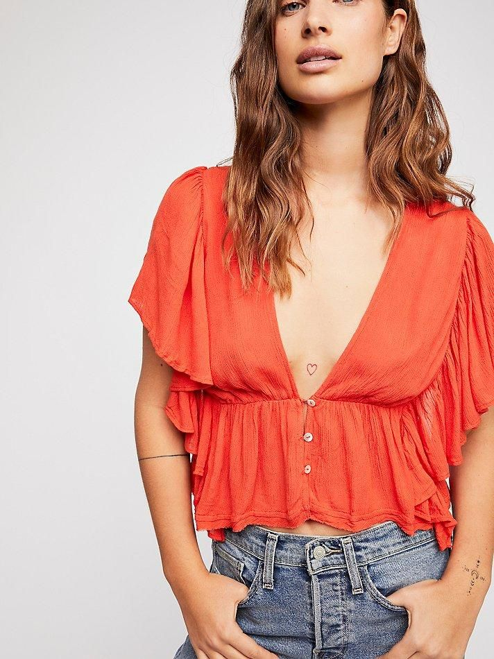 1a3ca3e1ef Free People Valentina Top by Free People #ad | Shopping List | Tops ...
