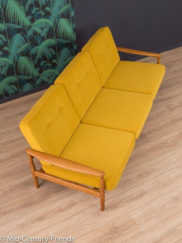 Vintage Sessel 60er Sofa Couch 50er Vintage 50er