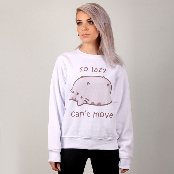 Hoodies And Sweaters View All. Cardigans Hoodies Pullovers & Sweaters Outerwear Tees Tanks Fashion Tops chubby, grey tabby cat. She's all over the internet and now she's all over Hot Topic. We've got Pusheen the Cat merchandise including Pusheen shirts, stickers, rubber bracelets and plush. Get ready to fall in love with this adorable.