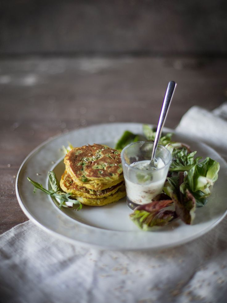 Curry Pea Ricotta Pancakes   Hortus Natural Cooking