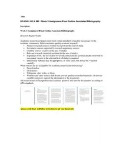 academic english ii annotated bibliography final 2 sample annotated bibliography 3 standard reference list/bibliography  guidelines the following is    03/.