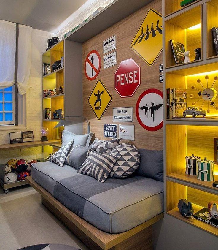 """912 curtidas, 8 comentários - DIY Home  (@diyhomebr) no Instagram: """"Quarto infantil cheio de estilo. #decor #decoracao #decoração #interiordesign #diyhome #diy…"""""""