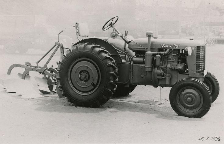 #Zetor 25 #traktori #tractor  Hankkijan arkisto