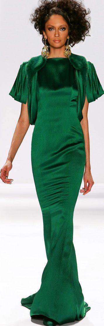 Zang Toi Designs Fall 2013