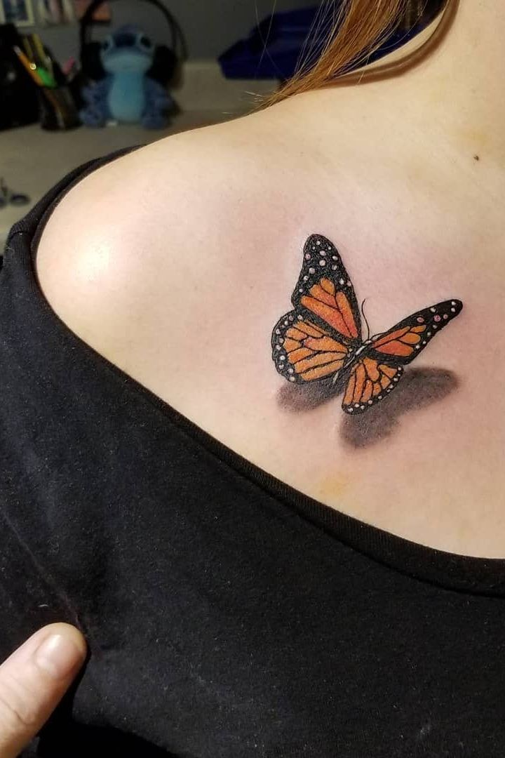 46 Beautiful And Cute Butterfly Tattoo Designs To Get That Charm 2019 Page 18 Of 42 Tattoo Go Butterfly Tattoo Butterfly Tattoo Designs Cute Butterfly